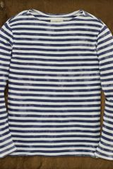 Denim & Supply Striped Boatneck Tee - Lyst