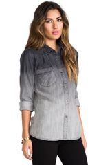 Rails Jordan Button Down in Gray - Lyst