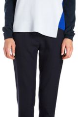 Stella McCartney Colorblock Asymmetric Hem Sweater - Lyst