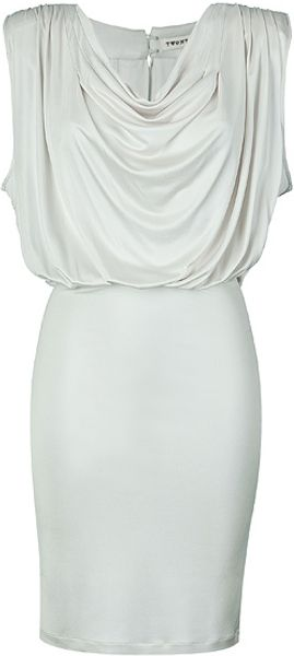 Twenty 8 Twelve Pearl Cascade Collar Dress - Lyst