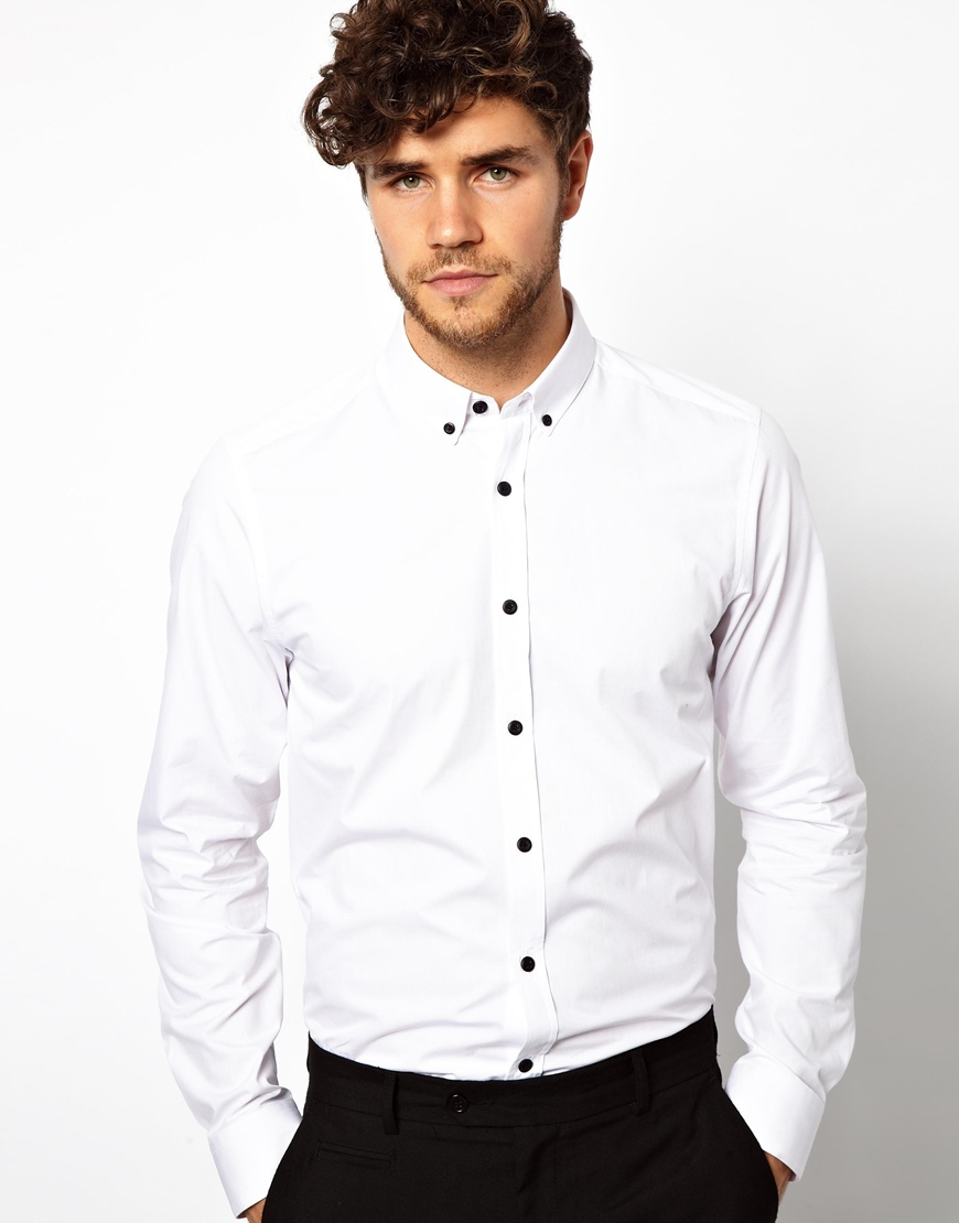 Button Down Collar Dress Shirts for Men at Macy's come in a variety of styles and sizes. Shop top brands for Men's Dress Shirts and find the perfect fit today.
