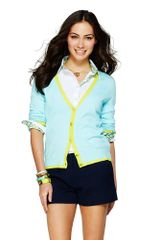C. Wonder Tipped V-neck Cardigan - Lyst
