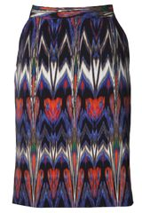 M Missoni Abstract Ikat Skirt - Lyst