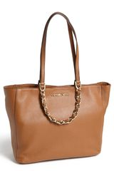 Michael by Michael Kors Harper Large Leather Tote - Lyst