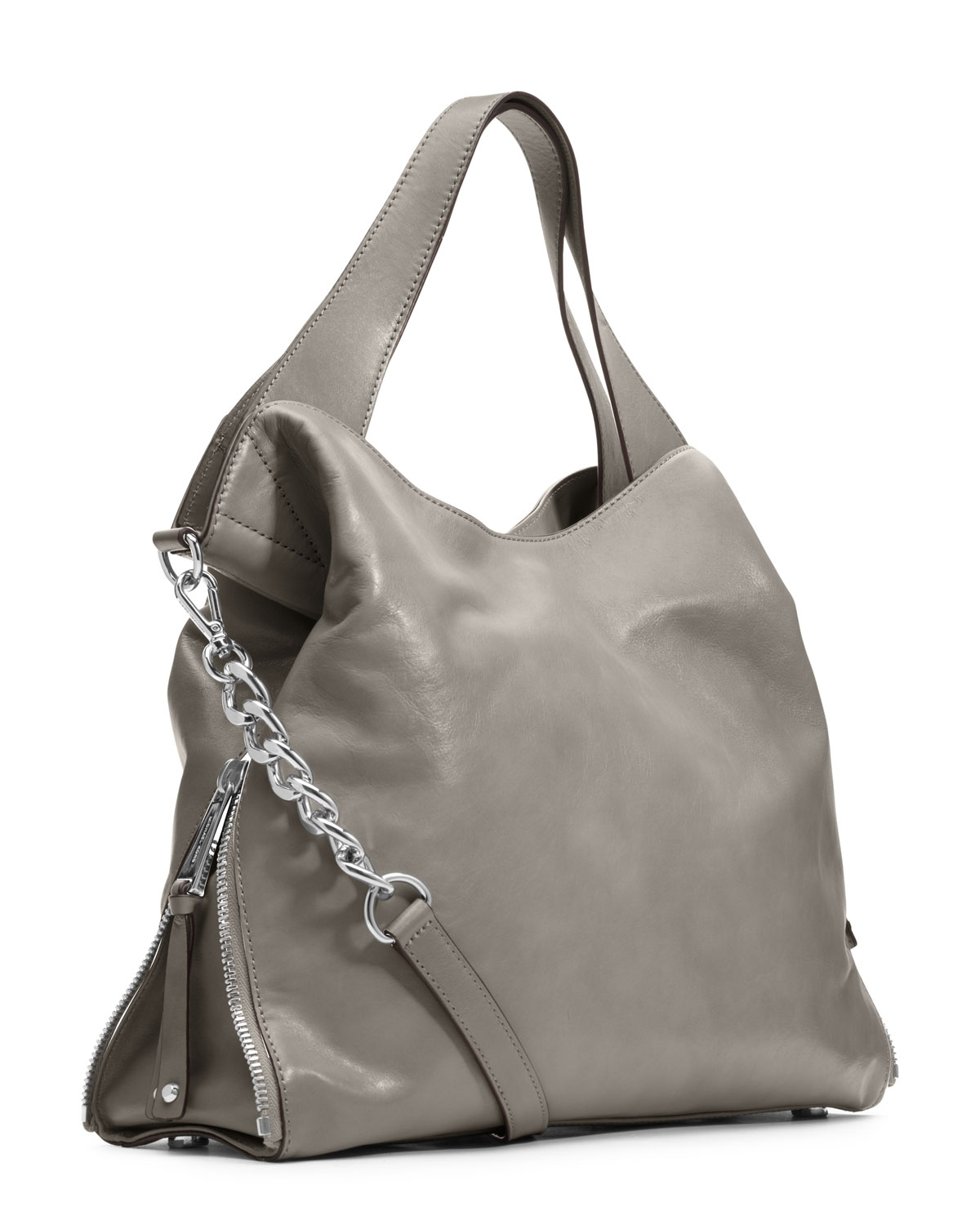 f0f4a1bda2 Michael Michael Kors Large Devon Shoulder Tote in Gray - Lyst