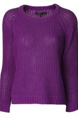 Rag & Bone Chunky Ribbed Sweater - Lyst