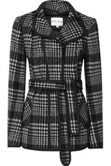 Reiss Knightley Short Check Jacket - Lyst