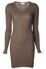 See By Chloé Ribbed Tunic Sweater - Lyst