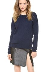 Theory Tollie Np Sweater - Lyst