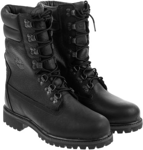 Timberland Super Boot In Black For Men Lyst