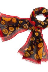 Tory Burch Engineered Hat Scarf - Lyst