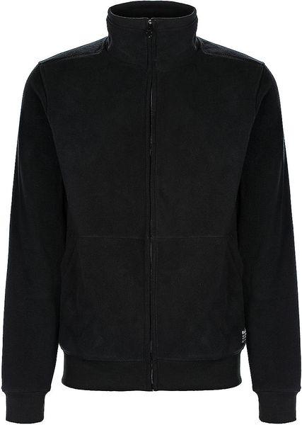 Bench Oakland Fleece Jacket In Black For Men Lyst