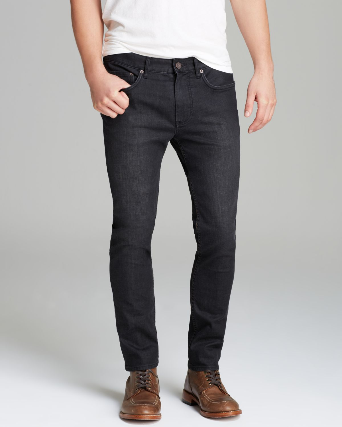 Marc by marc jacobs Jeans Slim Fit in Shadow in Gray for Men | Lyst