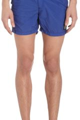 Stone Island Short Swim Trunks - Lyst
