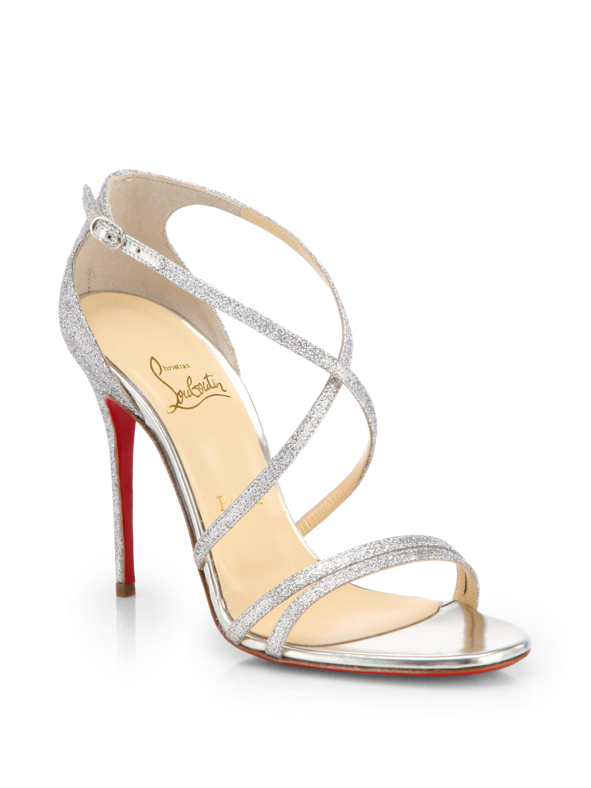 Price Dust Sandals Silver Louboutin 31638 Low 9236f Im7gyf6Ybv