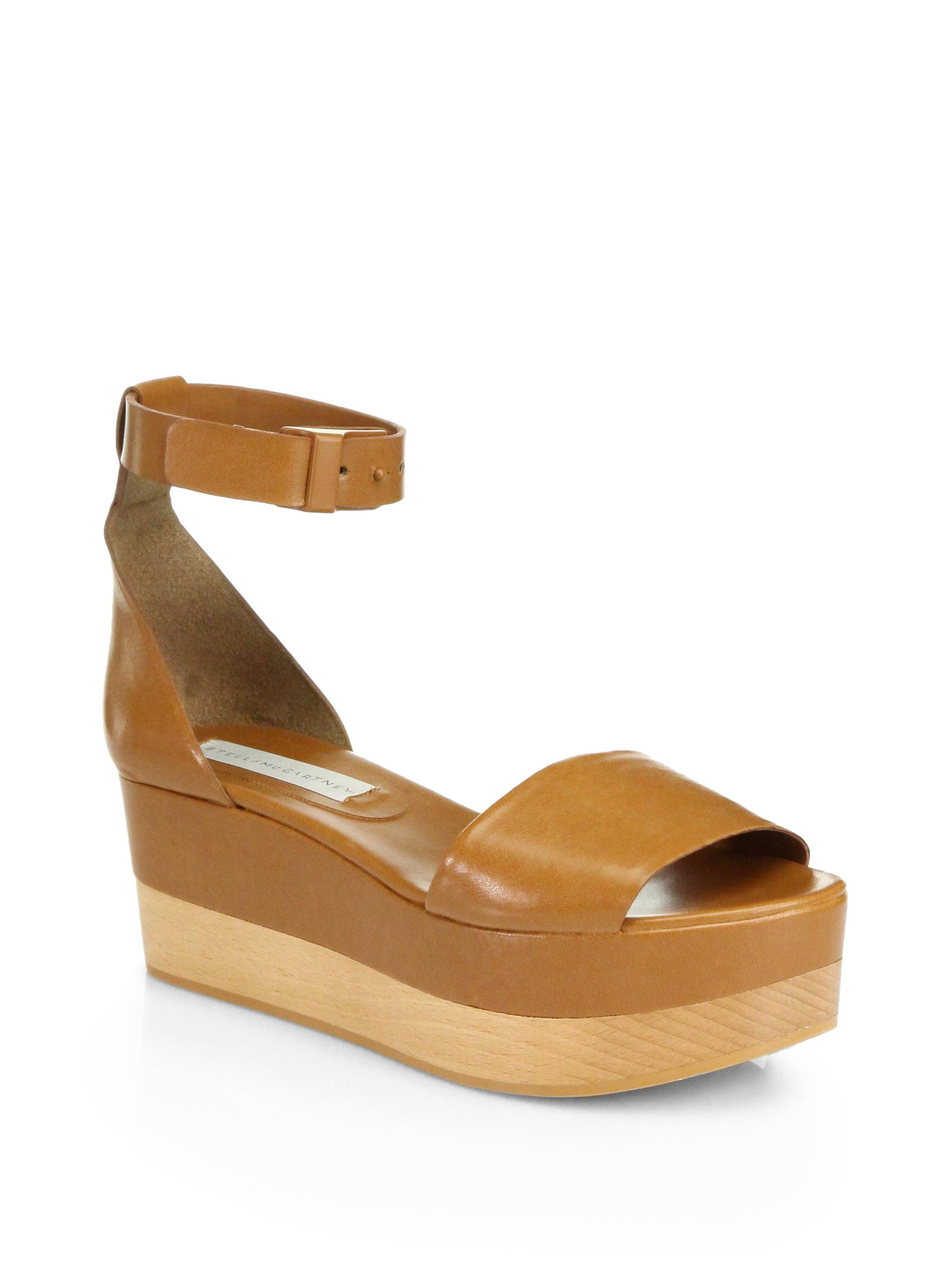 outlet sale online Stella McCartney Platform Ankle Strap Sandals buy cheap how much SntdgCj8