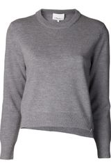 3.1 Phillip Lim Cropped Sweater - Lyst
