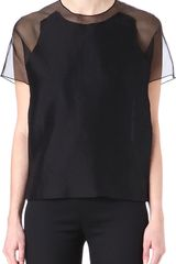 Acne Azade Sheer Back Top - Lyst