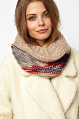 Asos Esprit Fancy Yarn Snood - Lyst
