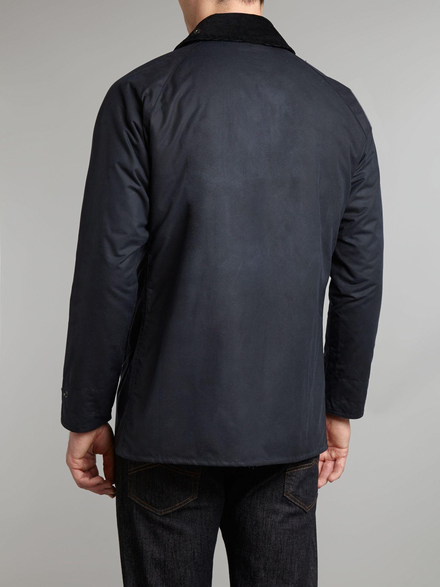 Barbour Wax Transport Jacket In Blue For Men Lyst