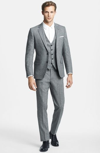 Billy Reid Ellerman Herringbone Wool Blend Suit - Lyst