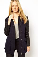 Free People Whistles Cooper Long Sleeve Casual Coat - Lyst