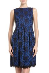 Isaac Mizrahi Sleeve less Lace Dress  - Lyst