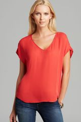 Joie Top Glenna Silk - Lyst
