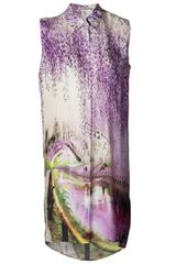 Mary Katrantzou Gloria Shirtdress - Lyst