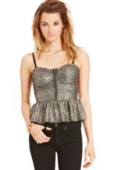 Material Girl Top - Lyst