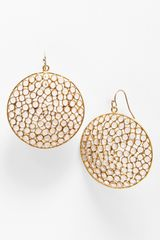 Nunu Designs Round Drop Earrings - Lyst