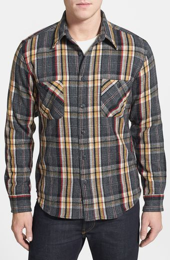 Pendleton Pawpine Plaid Wool Flannel Shirt - Lyst