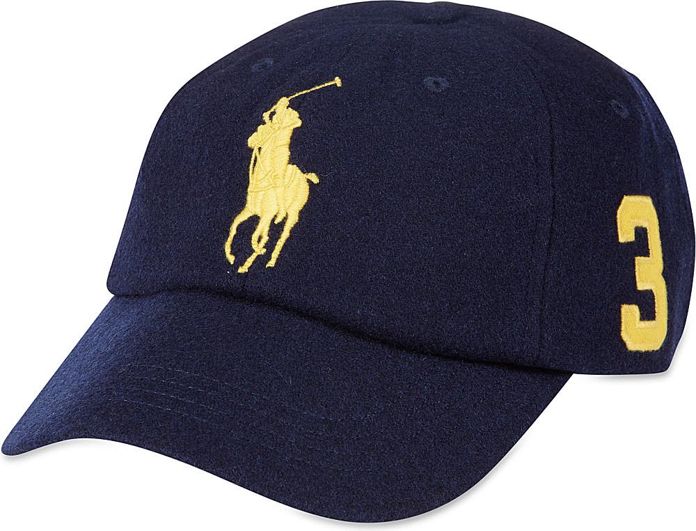 ralph lauren classic polo cap in blue for men newport. Black Bedroom Furniture Sets. Home Design Ideas