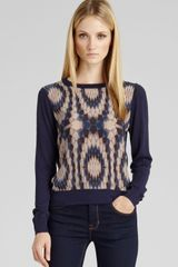 Reiss Sweater Rover Front Printed - Lyst