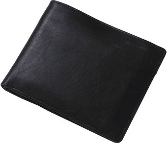 Skopes Classic Black Leather Wallet - Lyst