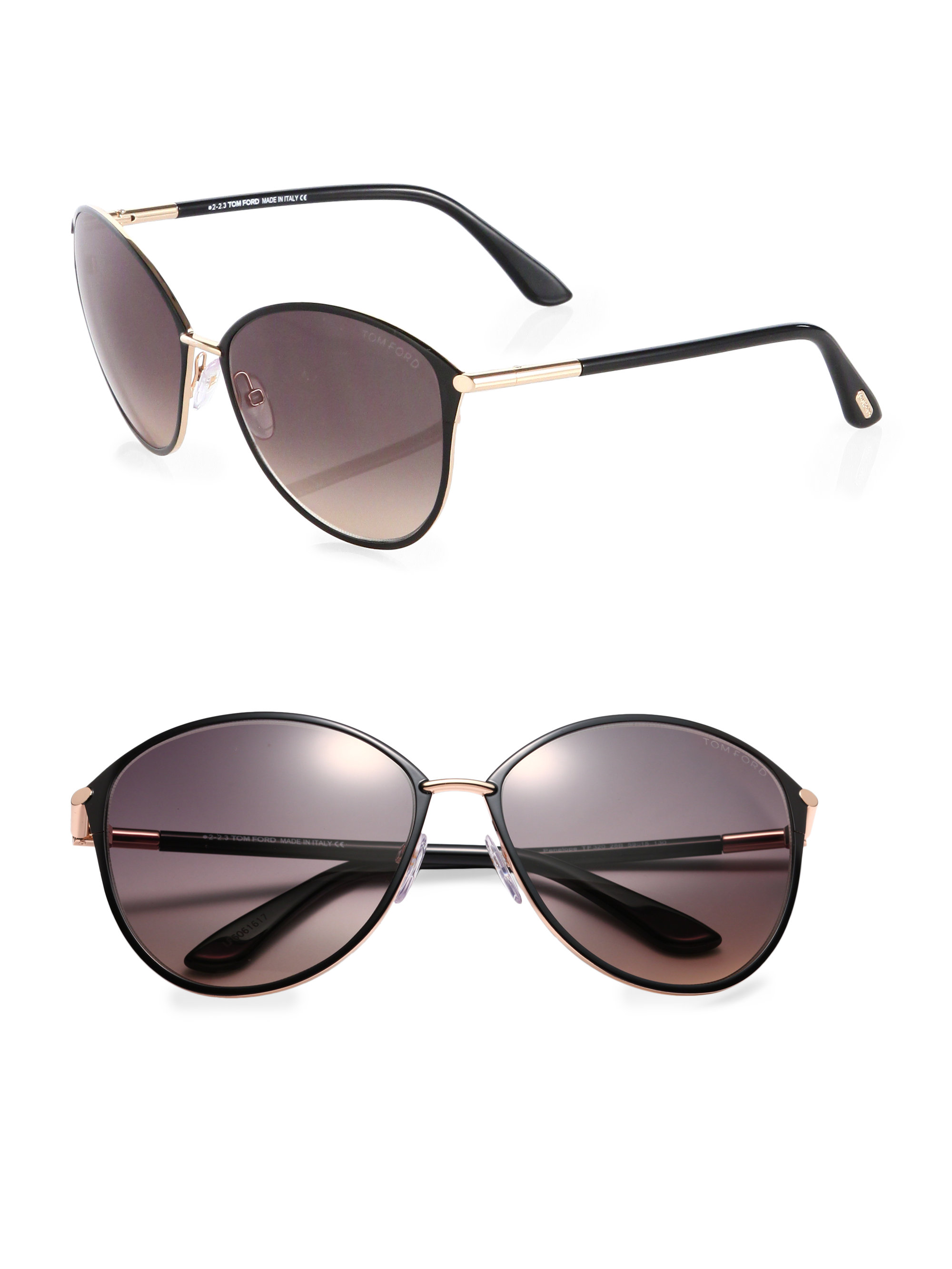 Tom Ford Penelope Sunglasses  tom ford penelope oversized sunglasses in black lyst