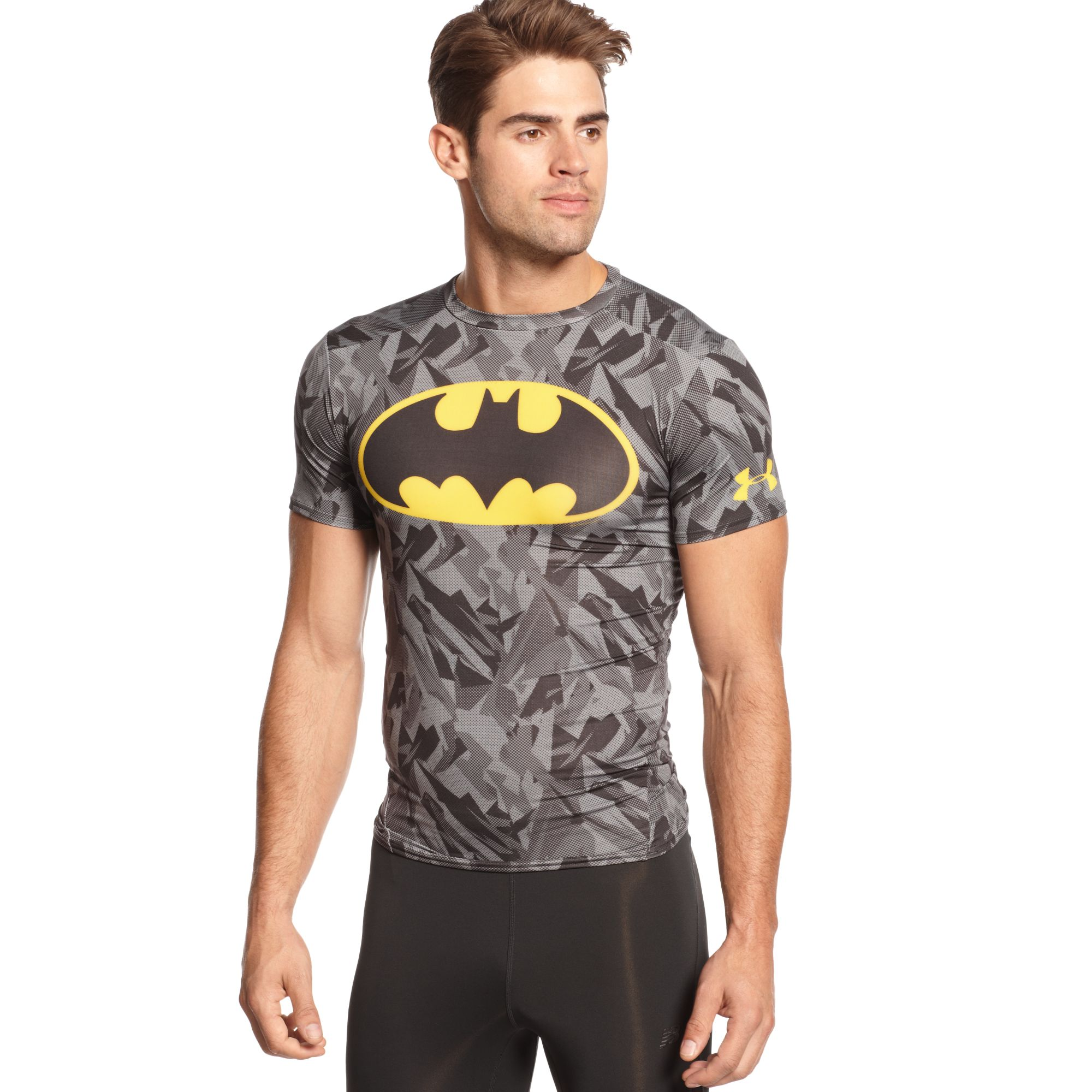 305fafac Under Armour Alter Ego Batman Compression T-Shirt in Black for Men ...