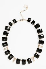 Anne Klein Collar Necklace - Lyst