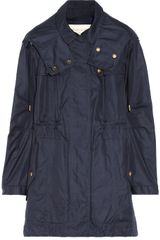 Burberry Brit Hooded Cottonblend Parka - Lyst