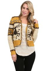 Free People Rudolph Cardigan - Lyst