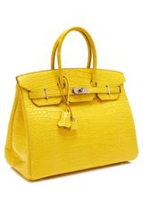 Heritage Auctions Special Collections 35cm Matte Mimosa Alligator Birkin - Lyst