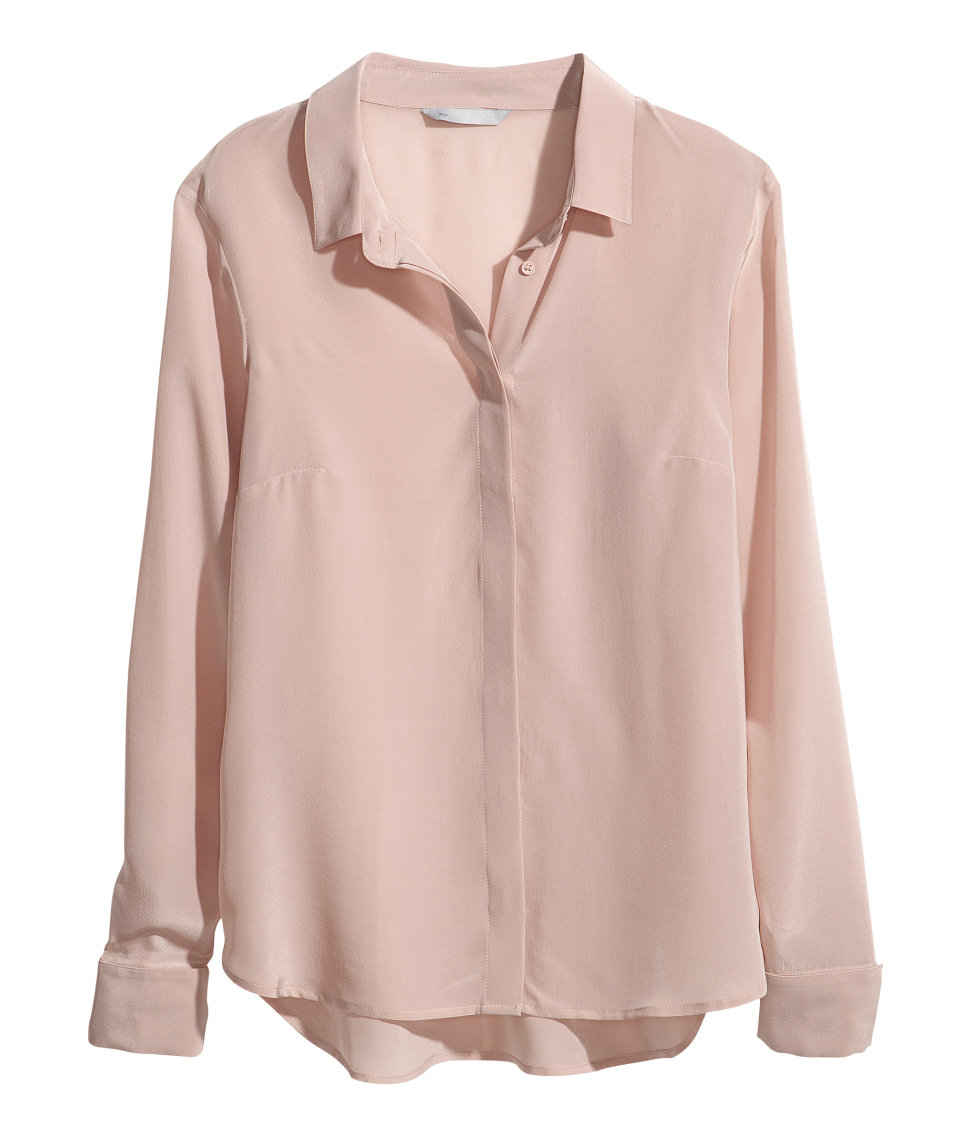 80241558fd860 Gallery. Previously sold at  H M · Women s Ruched Blouses ...