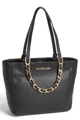 Michael by Michael Kors Harper Medium Leather Tote - Lyst