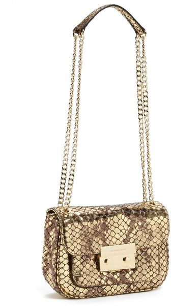 Michael by Michael Kors Sloan Small Chain Crossbody Bag - Lyst