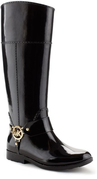 Michael Kors Michael Fulton Harness Tall Rainboot - Lyst