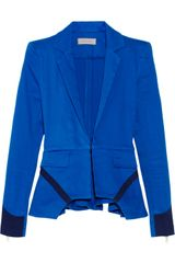 Preen Line Ives Stretch cotton Peplum Blazer - Lyst