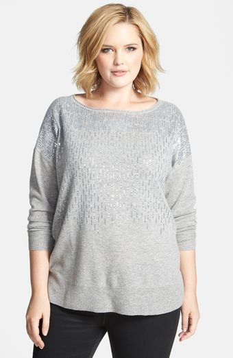 Sejour Wool Blend Sweater - Lyst