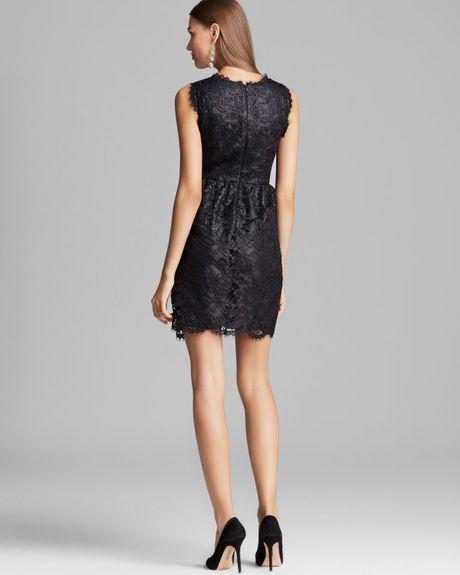 Shoshanna Lace Dress Sierra In Black Lyst