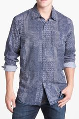 Tommy Bahama Denim Indigo Crush Sport Shirt - Lyst