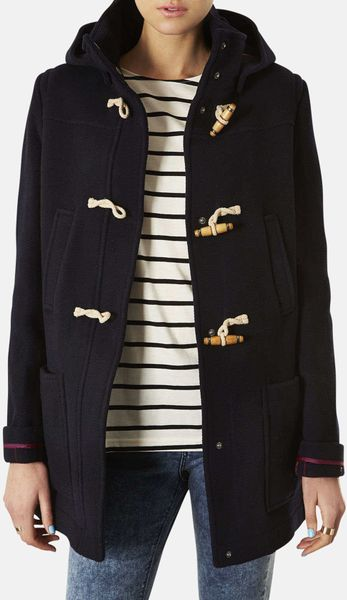 Burberry Brit Hooded Wool Duffle Coat In Blue For Men Navy - Free shipping on burberry brit clothing for women at nordstrom.com. shop for dresses, coats